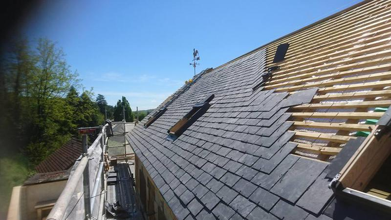 Image 14 - Slate roofing and velux's