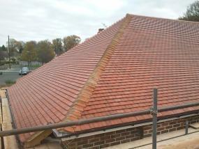 Image 18 - Orpington Redland plain tile roof renewal.
