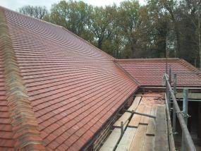 Image 19 - Orpington Redland plain tile roof renewal.