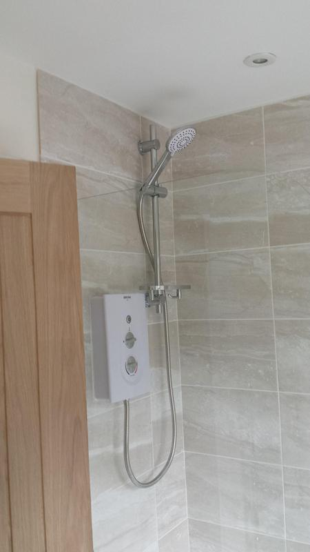 Image 19 - New electric shower installed
