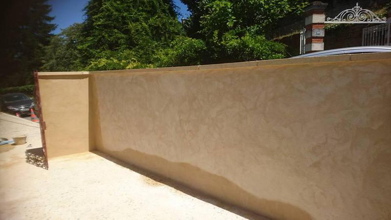 Image 19 - white cement render