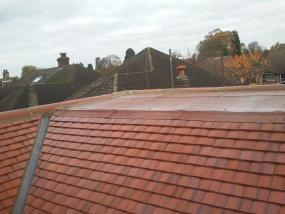 Image 21 - Orpington Redland plain tile roof renewal.