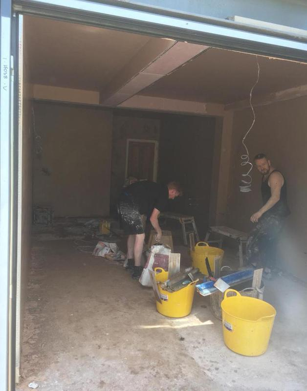 Image 44 - All new extension boarded and skimmed floor had to be screeded