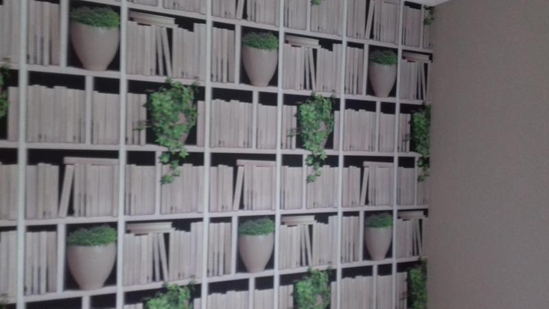 Image 13 - bookshelf wallpaper