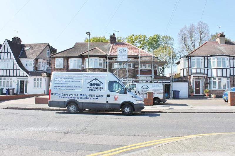 Image 13 - Scaffolding and Empire Van at a job in Enfield
