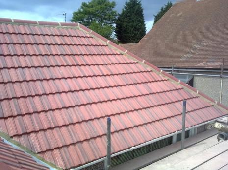 Image 28 - Barnehurst Redland interlocking 49s roof renewal