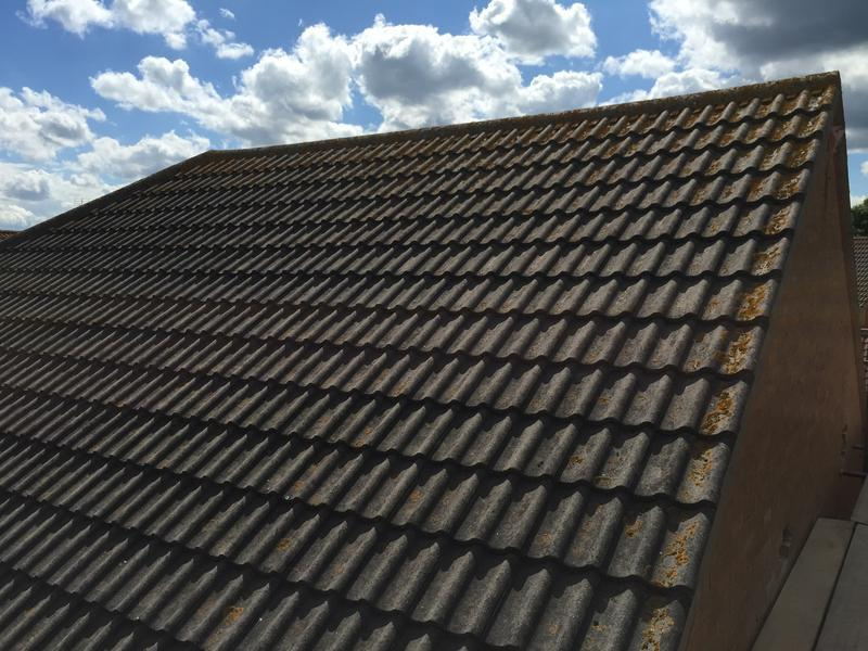 Image 43 - Roof before loft conversion