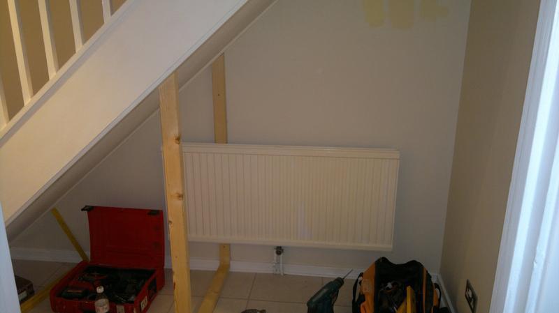 Image 42 - understairs cupboard in progress
