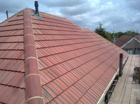 Image 29 - Barnehurst Redland interlocking 49s roof renewal