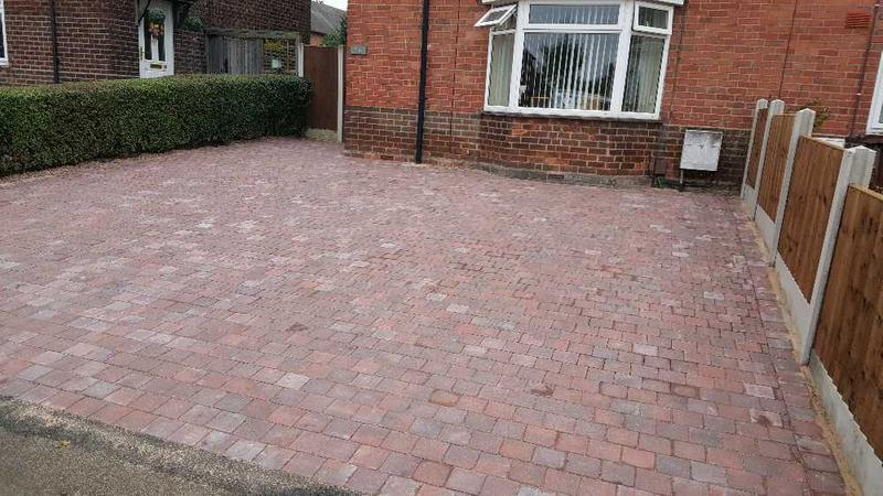 Image 131 - paving in Nottingham