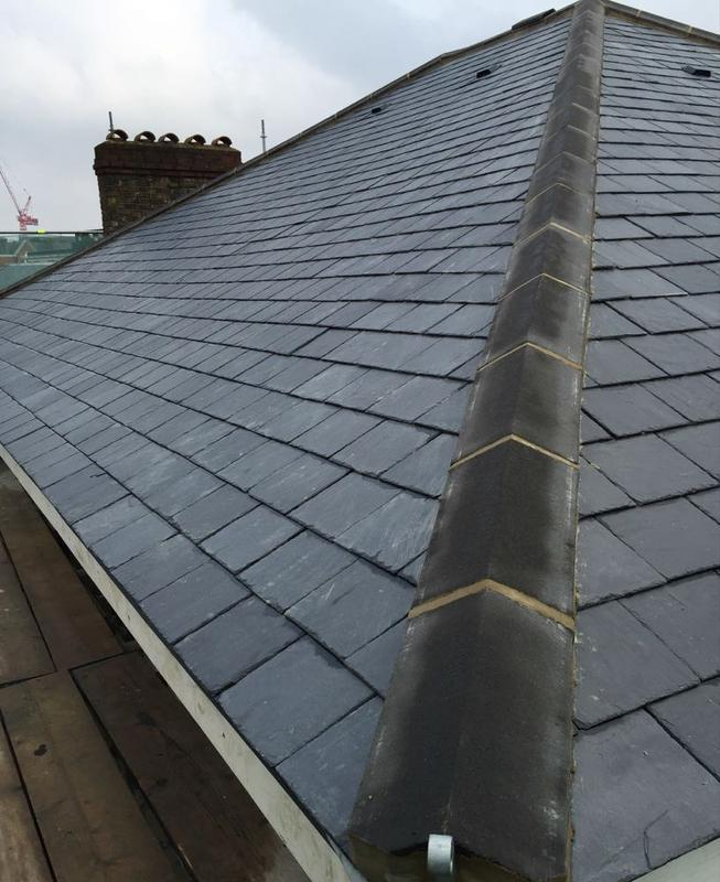Image 42 - Re-Roof Using Natural Spanish Slates - West Hampstead, London