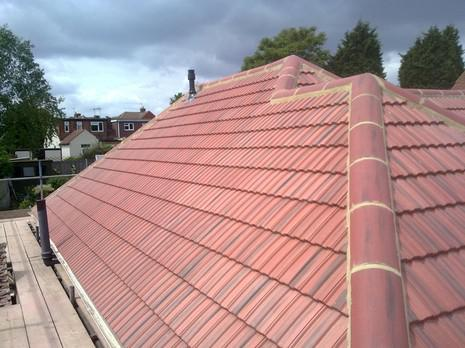 Image 30 - Barnehurst Redland interlocking 49s roof renewal