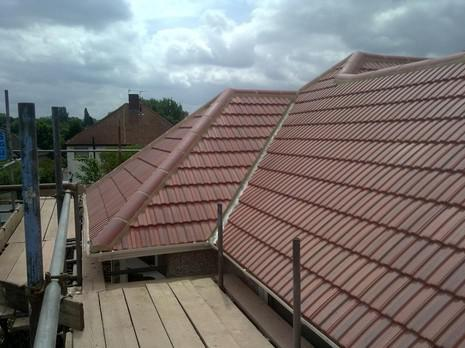 Image 31 - Barnehurst Redland interlocking 49s roof renewal