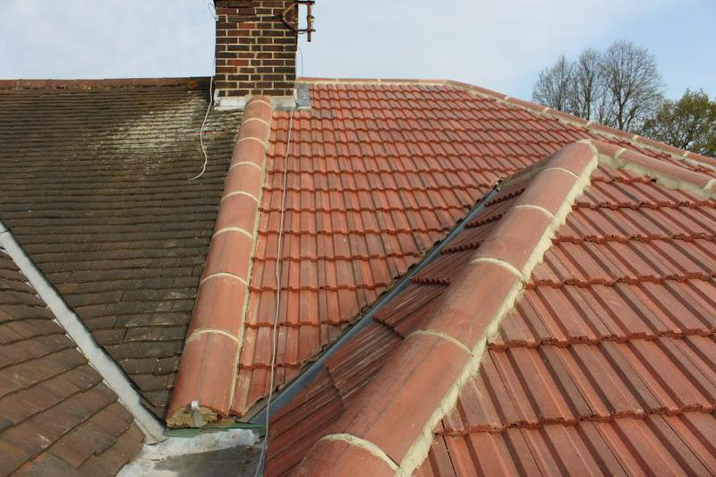 Image 17 - Newly Tiled roof on a Semi detached house
