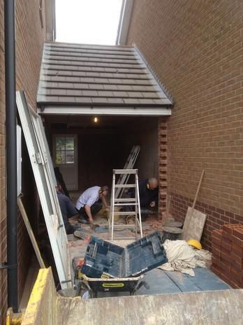 Image 31 - garage conversion started