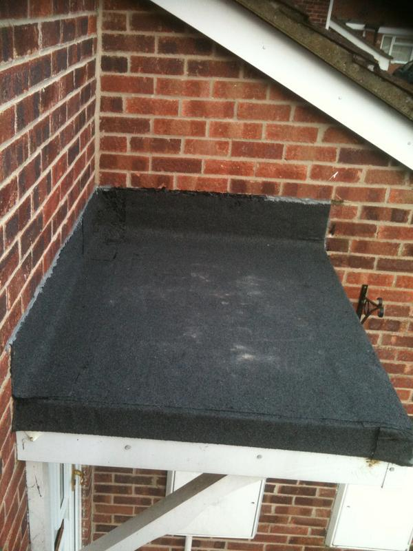 Image 2 - New porch flat roof