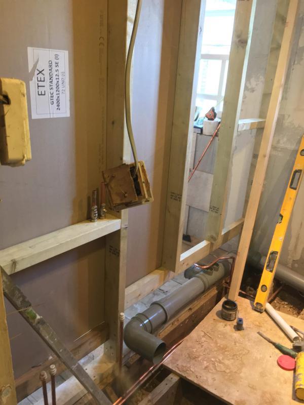 Image 13 - New stud wall in progress