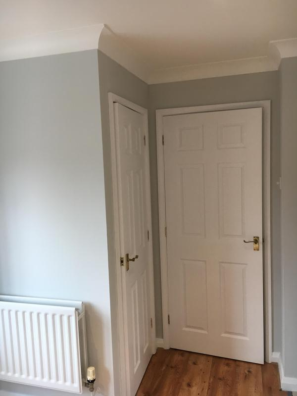 Image 2 - F&B 'Blackened' - Trade emulsion on the walls. Dulux Trade eggshell on the woodwork. F&B 'Blackened' for wood and metal on the radiator.
