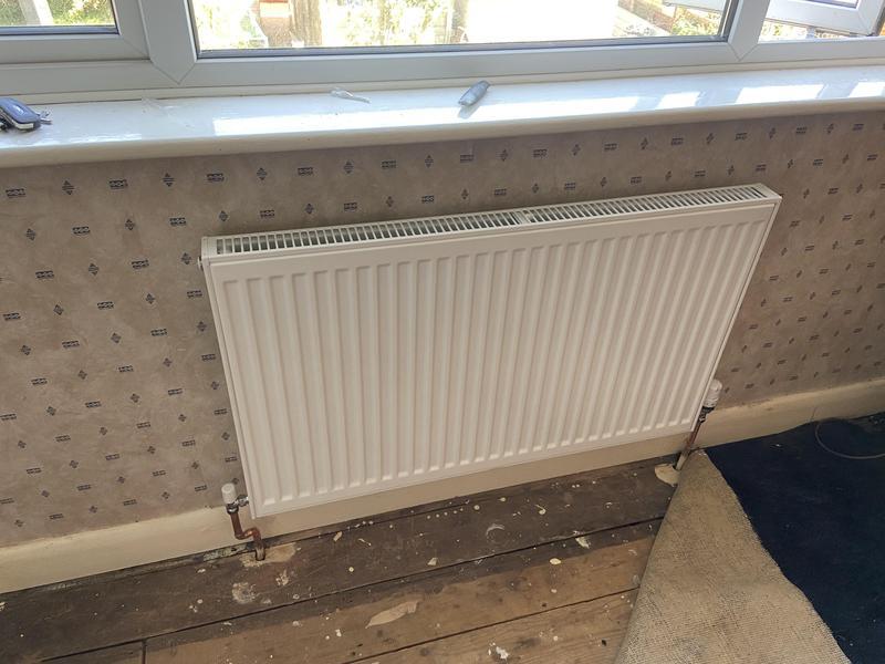 Image 6 - New radiator installation