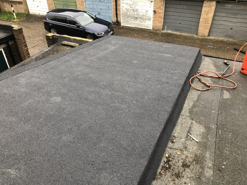 Image 94 - Felt flat roof to local take away