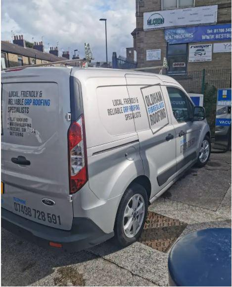Oldham Roofing Company logo