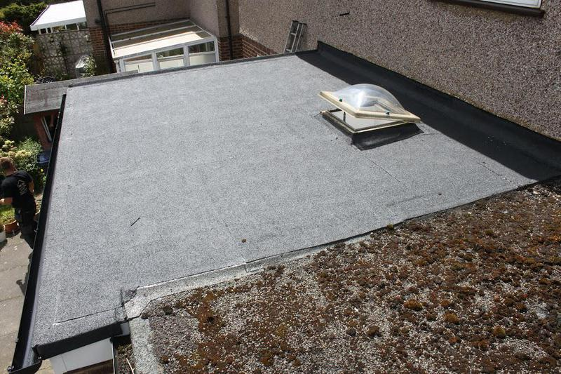 Image 24 - New Felt Flat Roof AFTER