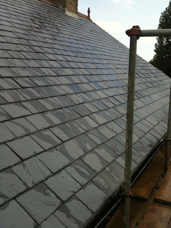 Image 45 - New Slate Roof
