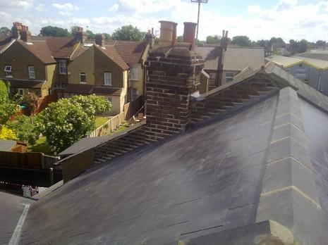 Image 43 - Bexleyheath Marley Eternit thrutone immitation slate and UPVC soffit, fascia and guttering renewal.