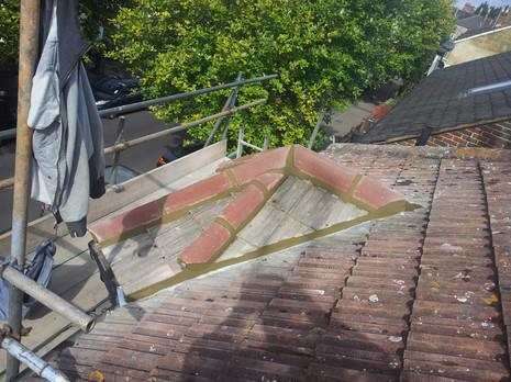 Image 46 - Dulwich ridge tile and valley lining renewal.
