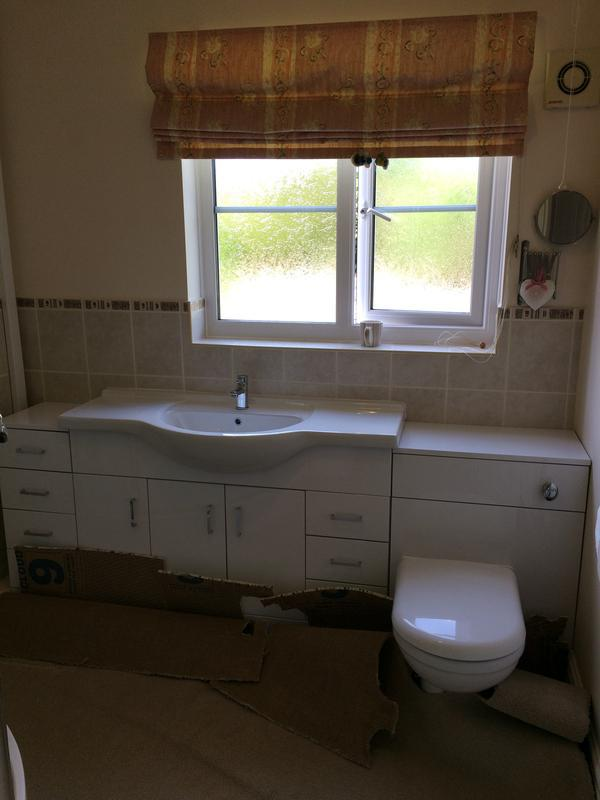 Image 36 - A bathroom vanity unit, replacing a standard toilet and basin with pedestal