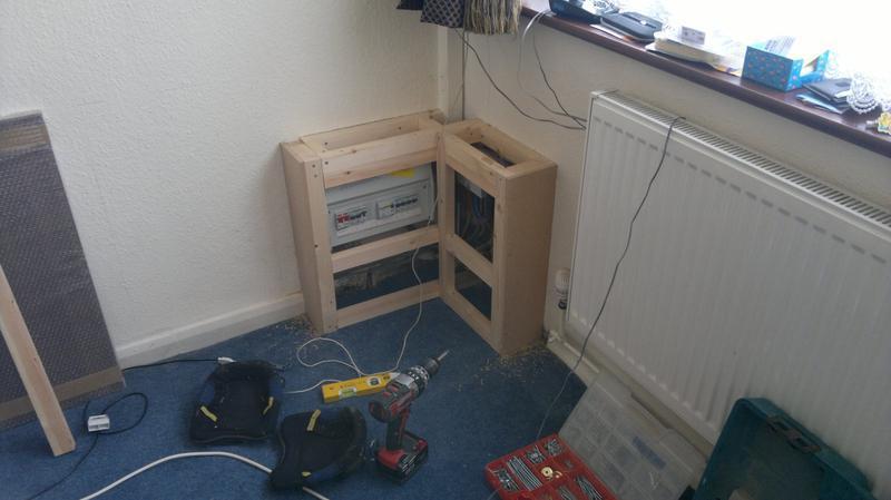 Image 45 - bespoke cupboard in progress