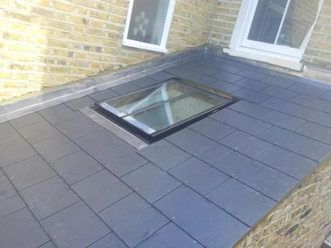 Image 49 - Dulwich Rear roof and velux window renewal.