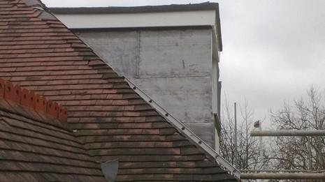 Image 50 - Clapham dormer flat roof, cheeks and UPVC soffit, fascia and guttering renewal.