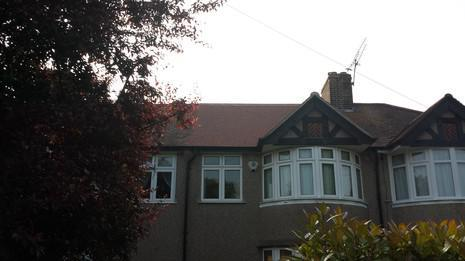 Image 55 - Sidcup Redland plain tile and UPVC soffit, fascia and guttering renewal.