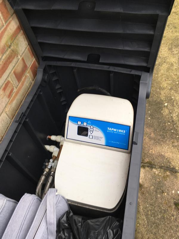 Image 13 - Water softener fitted outside