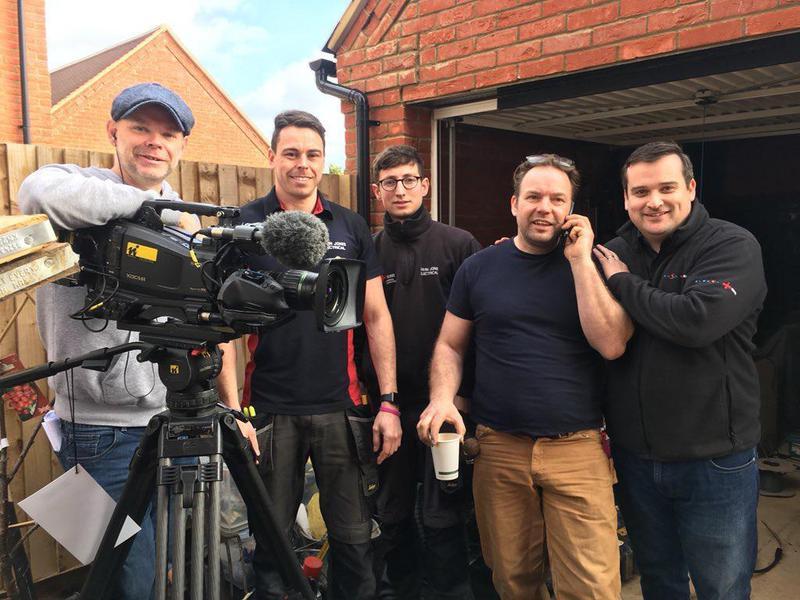 Image 73 - Filming of BBC Garden Rescue