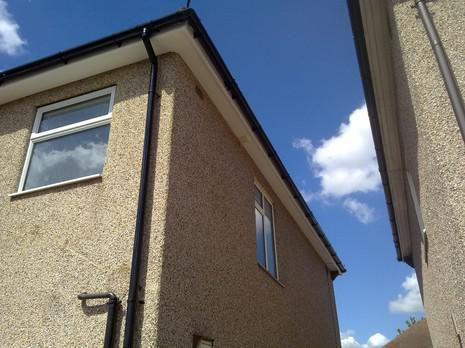 Image 62 - Bexleyheath UPVC soffit, fascia and guttering renewal.
