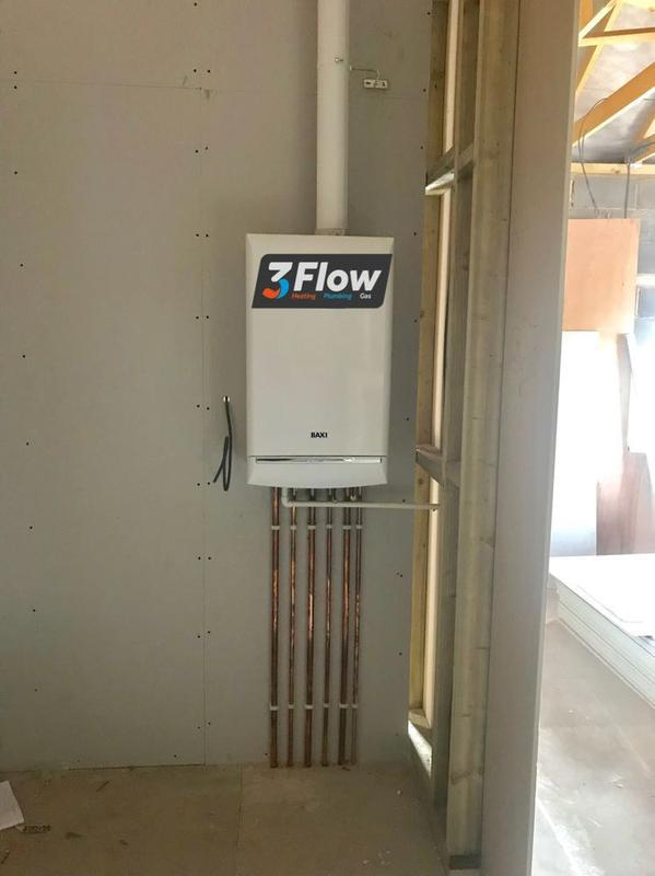Image 22 - new baxi duotec 28 installed in new build with vertical flue