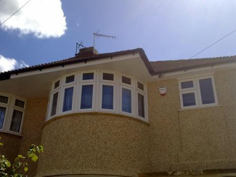 Image 65 - Bexleyheath UPVC soffit, fascia and guttering renewal.