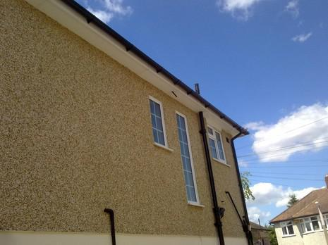 Image 66 - Bexleyheath UPVC soffit, fascia and guttering renewal.