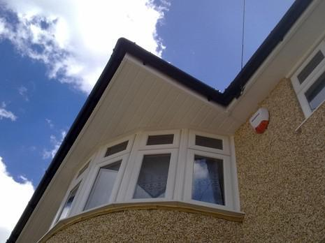 Image 67 - Bexleyheath UPVC soffit, fascia and guttering renewal.