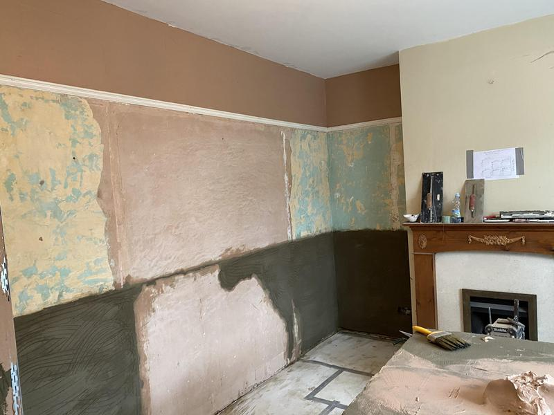 Image 66 - Plastering damp proofing