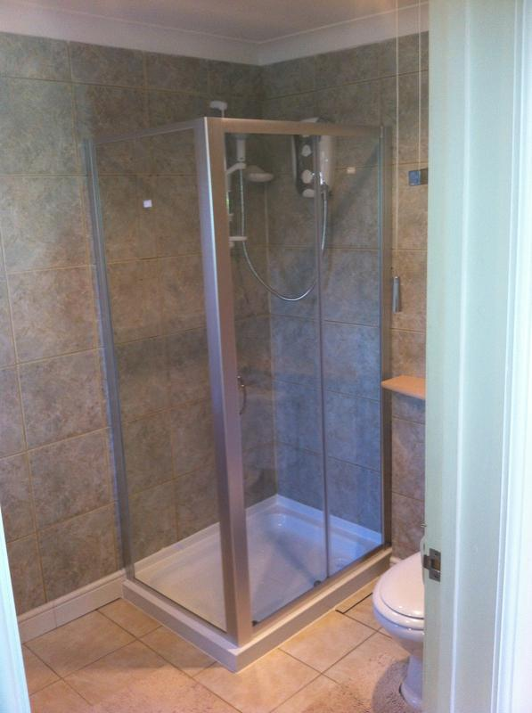 Image 18 - New Enclosure, Complete With New Shower And Tile Alterations