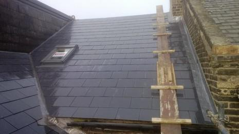 Image 70 - Brockley Marley eternit thrutone roof renewal.