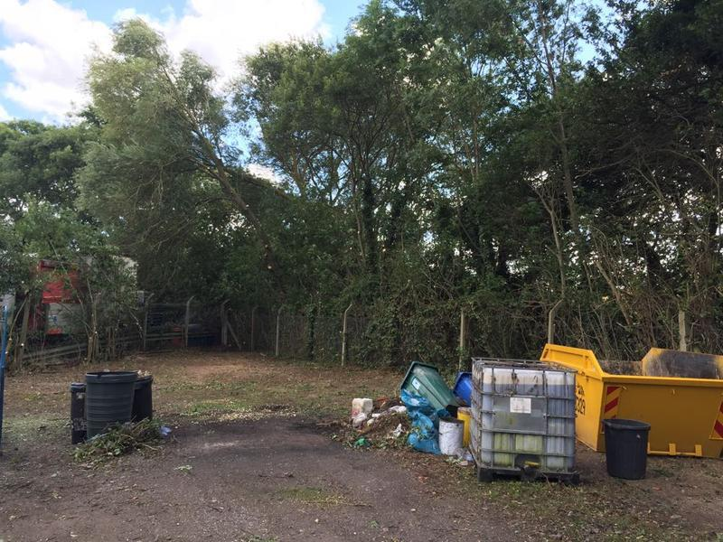 Image 15 - Work in progress at a commercial site where trees are to be taken back to boundary. wollaston, Wellingborough.