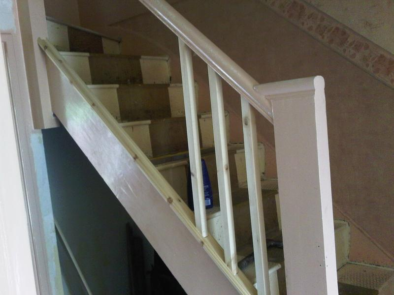 Image 17 - Rebuilt Stairs & Spindals