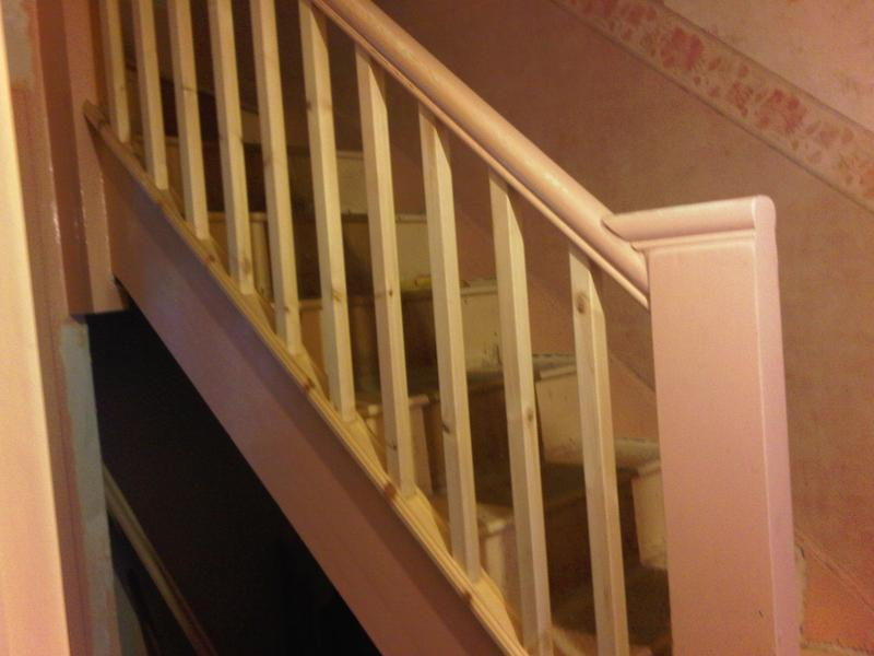 Image 18 - Rebuilt Stairs & Spindals