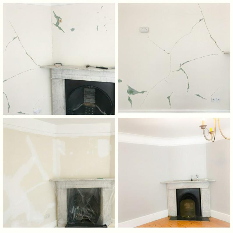 Image 5 - Wall fixing and painting