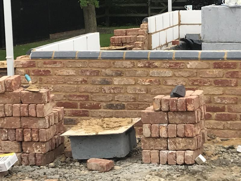 Image 7 - Brickwork to plinth on bungalow