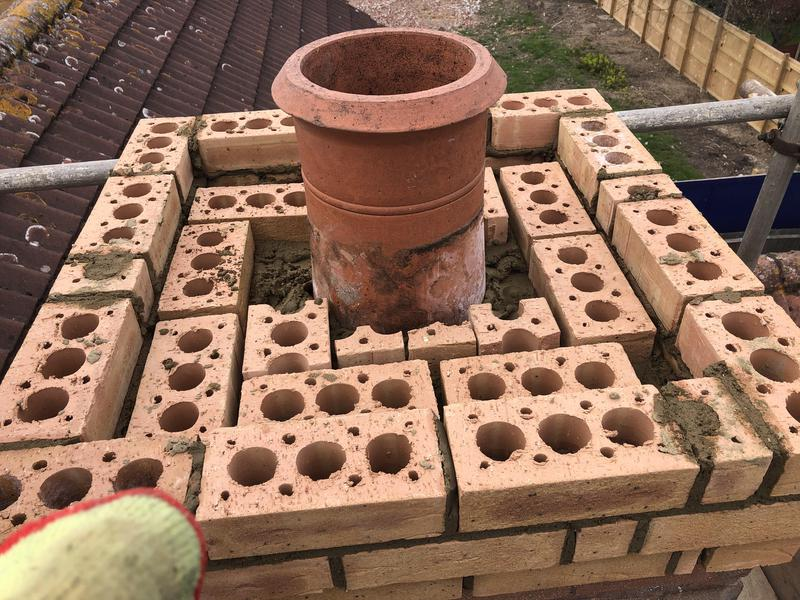 Image 2 - Replacing 3 corses of brickwork